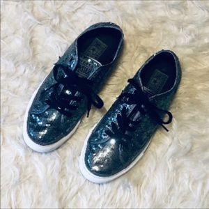 Sequined Converse Low Sneakers
